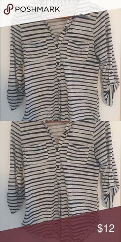 Striped Knit Button Down Striped Knit Button Down Tops Button Down Shirts