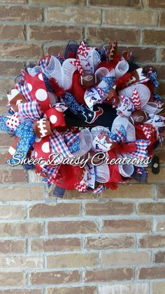 Houston Texans Wreath, Houston Wreath, Football wreath, NFL wreath, Fall wreath…