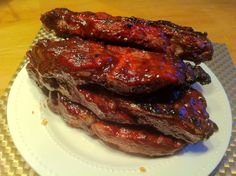 Uncle Gary's Pepper jelly BBQ ribs