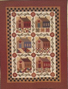 Primitive Folk Art Quilt Pattern  PATCHWORK by PrimFolkArtShop, $12.00