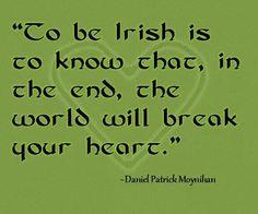 ~Daniel Patrick Moynihan