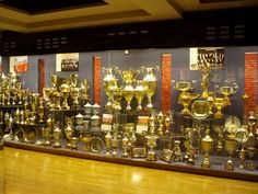 Manchester United Trophy Room