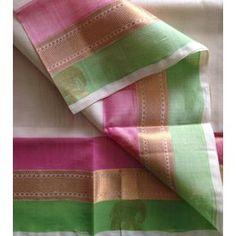 SC210013-VARNAM handwoven korvai silkcotton-offwhite beauty!, 700g Saris, Silk Sarees, Kasavu Saree, Cream Colour, Modern Outfits, Indian Style, Kerala, Indian Fashion, Blouse Designs