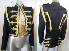 VINTAGE 1960S MARCHING BAND MILITARY MOD JACKET
