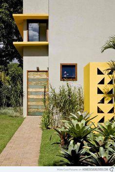 Cobogo House in Brazil by architect Ney Lima