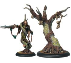 Cassius the Oathkeeper & Wurmwood, Tree of Fate #HORDES #Circle #Orboros #PrivateerPress #warlock #miniatures #wargames