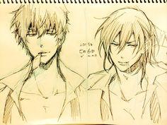 gino i kou Anime Guys, Manga Anime, Anime Art, Kogami Shinya, Manga Drawing Tutorials, Anime Recommendations, Psycho Pass, Lol League Of Legends, Bishounen