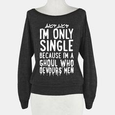 •single ghoul sweatshirt•