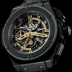 Kobe Bryant x HUBLOT King Power Black Mamba Chronograph Watch