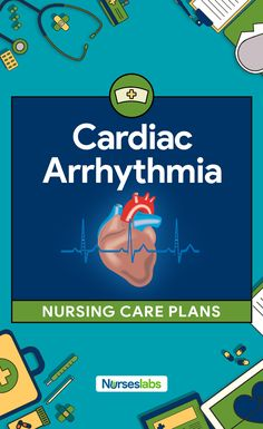 A cardiac arrhythmia is any disturbance in the normal rhythm of the electrical excitation of the heart. Here are 3 Cardiac Arrhythmia (Digitalis Toxicity) Nursing Care Plans What Is Nursing, Nursing Care Plan, Nursing Tips, Nursing Programs, Rn Programs, Nursing School Scholarships, Online Nursing Schools, Nursing Career, Nursing Students