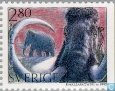Sweden [SWE] - Prehistoric animals 1992