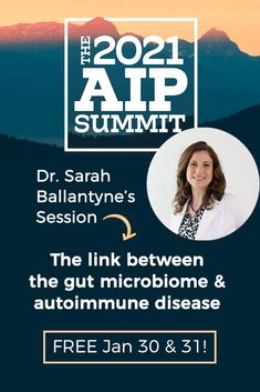 For this year's AIP summit, my presentation is lecture-style, slides and everything! I discuss the link between the gut microbiome and autoimmune disease, and how to refine and focus the three phases of the AIP in order to best support the gut microbiome. #AIP #AIPsummit #AIPdiet #autoimmuneprotocol Gut Microbiome, Autoimmune Disease, Gut Health, Thyroid, Presentation, Healing, Link, Style, Swag
