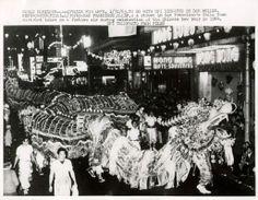 Chinese New Year's Parade/Chinatown SF/Feb 1964