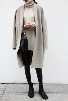 luxe layers of soft beige cashmere. gets me every time.