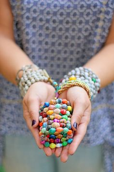 arm party from noonday collection