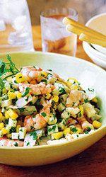 Shrimp, Jicama, and Mango Salad Recipe