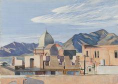 Edward Hopper - Construction in Mexico (1946)