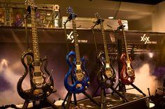 Custom Guitar Paint Designs | NAMM 2010 - Winter NAMM Show - XOX Guitars