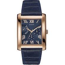 917c2f7eece94 Men Watches Collection · Guess Montre analogique en cuir - bleu marine  Marque Tendance, Cadeaux Bijoux, Vente Privée