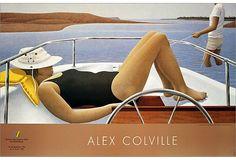 Alex Colville Alex Colville, Canadian Painters, Canadian Artists, New Artists, Christopher Pratt, Bikini Rouge, Fabian Perez, Toronto, Critique D'art