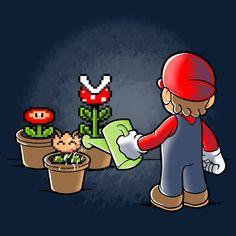 Mario gardener by trheewood