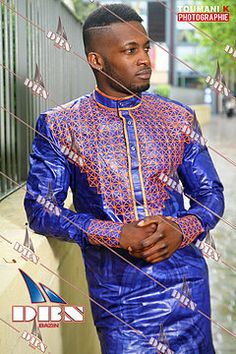 Couples African Outfits, African Clothing For Men, African Shirts, African Attire, African Wear, African Dress, African Style, Nigerian Men Fashion, Latest African Fashion Dresses