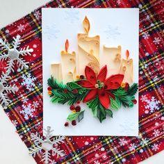 Christmas mood #quilled#illustration В Питере снега нет.. Ждем Новогоднее настроение приходится создавать самим ❄️❄️❄️ #квиллинг#квиллингиллюстрация