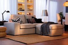 comment habiller un canapé simple