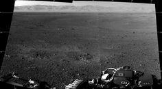 Primera imagen en alta resolución del Curiosity en el cráter Gale. Esto marcha...