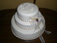 Dijete zajedništvo kolač - Imagui Boy Communion Cake, First Holy Communion Cake, Comunion Cakes, Cupcake Cookies, Cupcakes, Religious Cakes, Beautiful Wedding Cakes, Cakes For Boys, Cakes And More