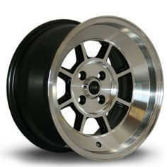 Rota BM8  From: £137.50  The BM8 is ideal for the person and #car that does not want to fit in, or just be part of the scenery. Available only in big widths and low offsets it's the perfect wheel to add a bold finishing statement to your car.