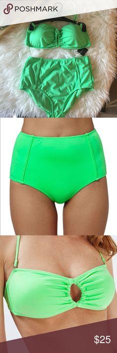 🎉SALE🎉TOPSHOP TWO PIECE SWIM SUIT BRAND NEW WITH TAGS ❤️ TOPSHOP TWO PIECE SWIM SUIT .(SALE PRICE FIRM) Topshop Swim Bikinis