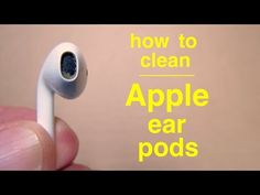 Deep Cleaning Lists, Cleaning Your Ears, Ear Cleaning, Cleaning Hacks, Cleaning Recipes, How To Clean Iphone, How Do You Clean, Clean Phone, Computer Headphones
