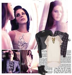 """""""Lana Del Rey for Vogue China January 2013"""" by leavefootprintsonmyheart-june27 ❤ liked on Polyvore"""