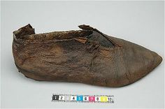 Medieval era shoe - from sweden