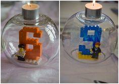 Recycle your LEGO, a deco idea! - Let's Party! Lego Ninjago, Lego Duplo, Lego Movie Birthday, Birthday Parties, Deco Lego, Geek House, Lego Friends Party, Lego Wedding, Wedding Cake