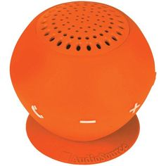 Sound pOp 2(TM) Water-Resistant Bluetooth(R) Speaker (Orange) - AUDIOSOURCE - SP2ORA