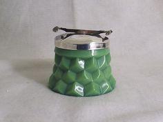 Vintage Fostoria Jade Sugar cuber
