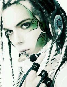 JOJO POST FASHION: Modern Wearable technology. Insane Cyberpunk Hair, futuristic fashion, cyber fashion, futuristic look, Shoes, Night, Day, Girl, Teen, woman, Man Fashion. Hat, Cuff, Bracelet, Nail, futuristic boy, cyberpunk, cyber punk, cyber hair, future fashion. Steam.