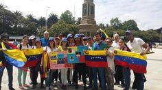 #30M Desde la ciudad de La Coruña en #España apoyan a Venezuela #360UCV