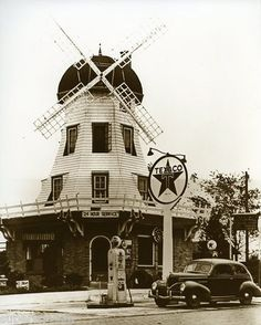 Dutch Mill Texaco Service Station in Carey Ohio, still there today.