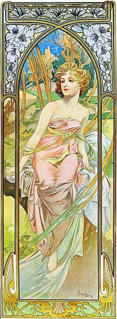 Альфонс Муха - Иллюстрации art nouveau   Contenton - Информационный иллюстрированный интернет-журнал