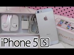 Presente para os inscritos ★ iPhone 5s Prata ❤ By Vivi Martins, Keity Go...