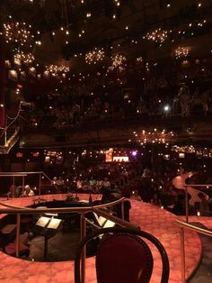 Great comet stage