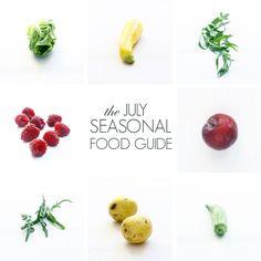 July Seasonal Food Guide