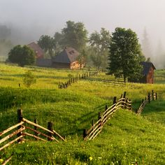 ***Countryside (Bucovina, Romania) by Sveduneac Dorin Lucian cl. Country Fences, Country Roads, Village Photography, Visit Romania, Life Choices, Secret Places, Landscape Photographers, Nature Photos, Country Life