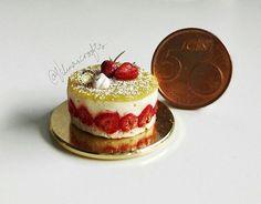 handmade polymerclay cheesecake…