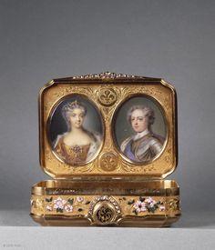 Daniel GOVAERS (master in Paris in 1717)  Snuff-box  1725 -26  Paris