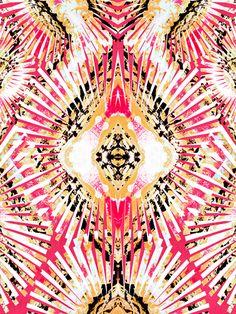 """""""Brittle Stars Raspberry"""" art print by COZAMIA  #art, #decor, #cozamia"""