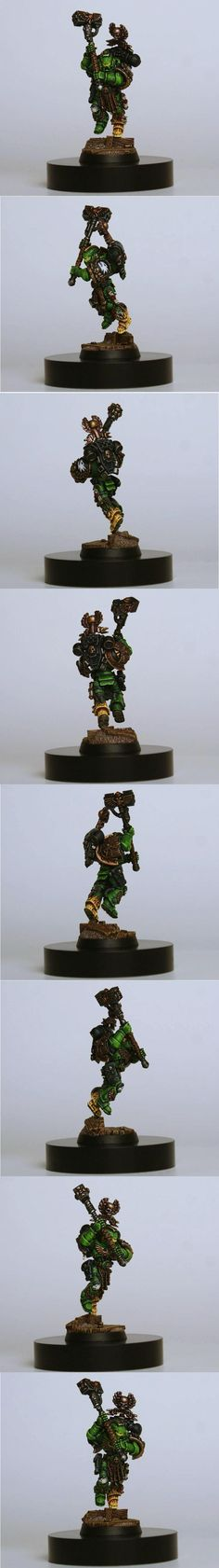 Salamander, Space Marines, Thunder Hammer